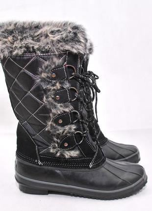 Khombu,женские термо ботинки сапоги сноубутсы, jack зимові чер...