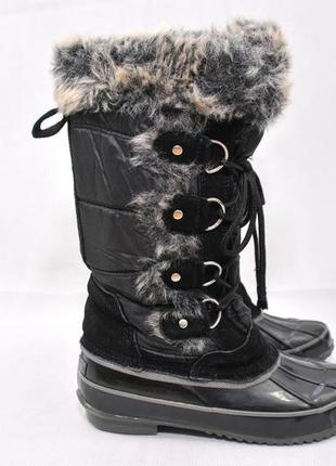 Khombu,женские термо ботинки сапоги сноубутсы, teva зимові чер...