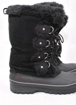 Khombu,женские термо ботинки сапоги сноубутсы, высокие ara зим...