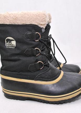 Sorel женские термо ботинки сапоги сноубутсы, зимові черевики ...
