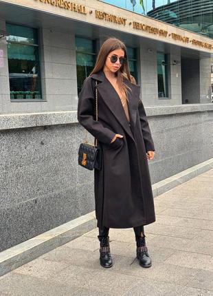 Модное женское пальто осень весна