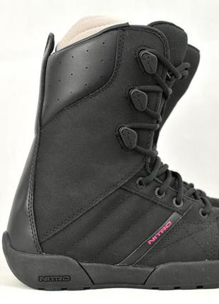 Nitro sanction сноубордические ботинки женские, ботинки дял сн...