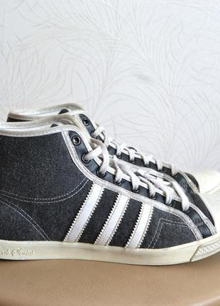 Adidas nizza hi sleek женские кеды оригинал