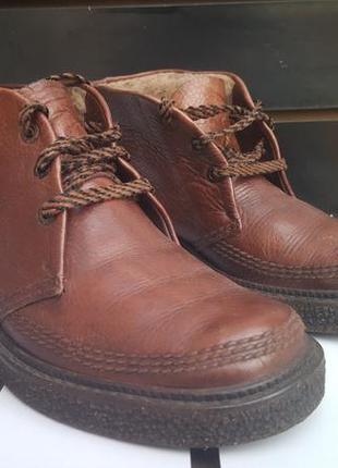 Мужские зимние ботинки metzeler salamander нат.кожа 40-25,5см