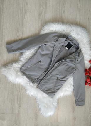 Стильная куртка бомпер, ветровка