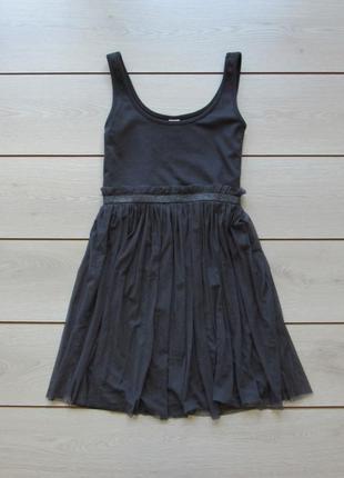 №30 платье с сеточной юбкой от vila clothes