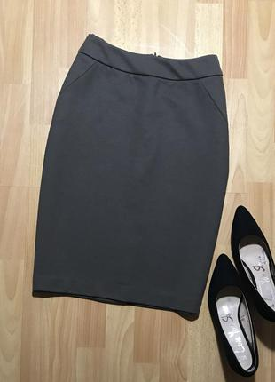 В наличии - юбка-карандаш из плотного трикотажа *adrienne vitt...