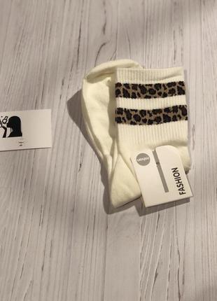 Носки «леопард»