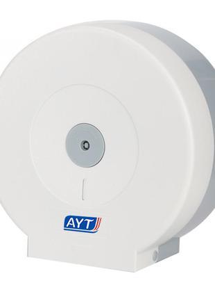 Диспенсер настенный для туалетной бумаги AYT AQ-507W держатель