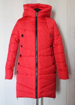 Стильна зимова куртка 50-60 розміру