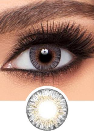 Цветные контактные линзы FreshLook Colorblends ЦВЕТ-GRAY