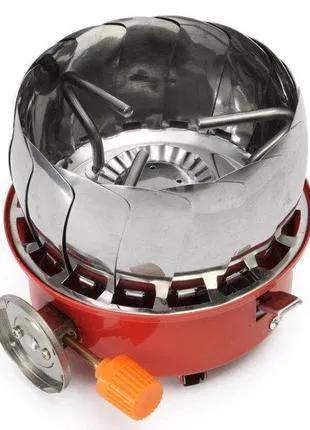 Портативная газовая горелка с ветрозащитой