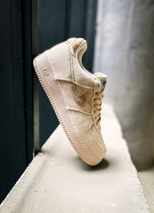 🔥 stussy x Nike air force 1 LOW FOSSIL (Топ качество) 🔥