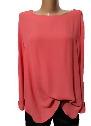 Блуза с удлиненной спинкой