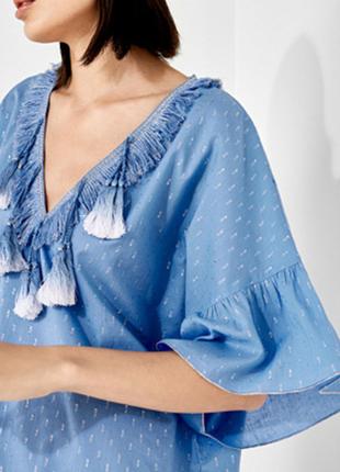 Новая платье туника women' secret с кисточками