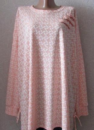 Платье туника лаурика, большой размер