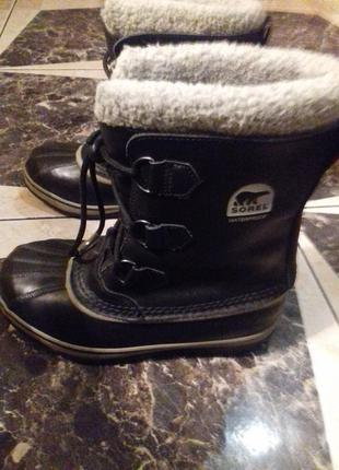 Термо ботинки sorel)waterproof