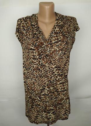 Блуза натуральная оригинальная в питоновый принт ralph lauren ...