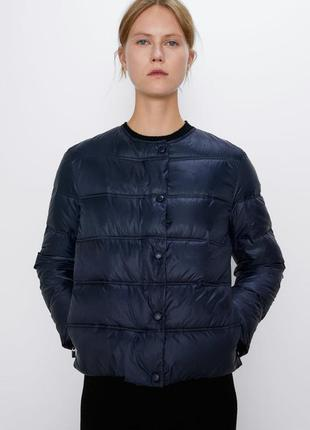 Стеганая куртка zara