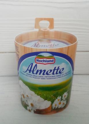 Творожный сырок сметанковый Almette 150гр (Польша)