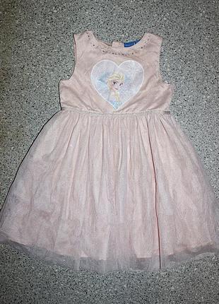 Платье эльза дисней фрозен