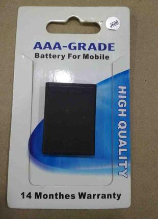 Корпусные детали для мобильных телефонов Б/У Батарея Samsung J600
