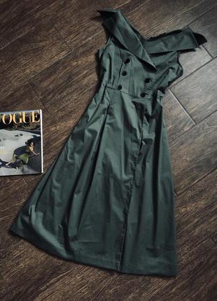 Очень красивое хаки платье
