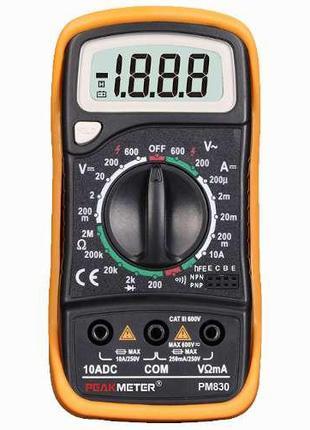 Цифровой мультиметр универсальный PROTESTER PM830
