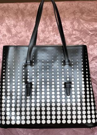 Luxury сумка тоут от alaia италия оригинал