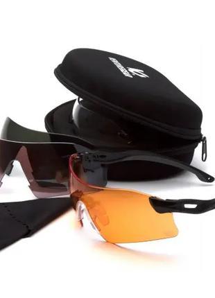 Защитные очки со сменными линзами Venture Gear Tactical Drop Z...