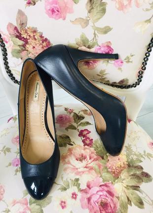 Massimo dutti оригинал кожа туфли лодочки