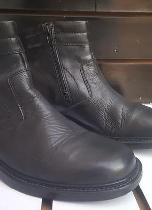 Мужские брендовые ботинки claudio conti деми 42-28см италия