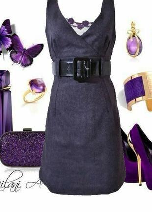 Шерстяное платье из твида в стиле кєжуал