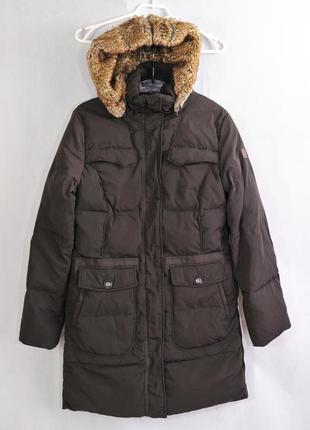 Tom tailor, женский пуховик, пальто зимнее, пух перо плащ /парка