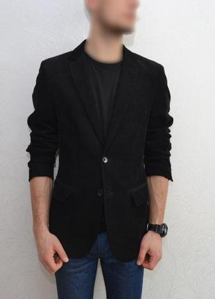 H&m slim пиждак мужской стильный, піджак / блейзер