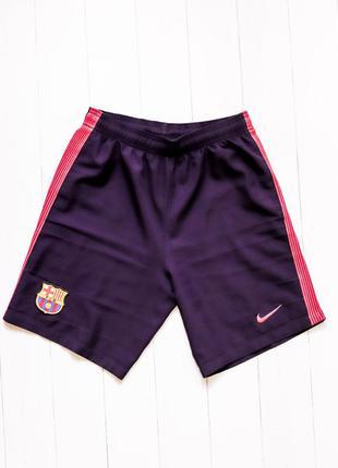Подростковые футбольные шорты nike, barcelona. оригинал. найк,...