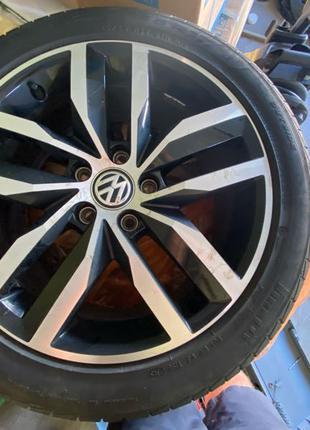 К-т дисков VW7Jx17H2 5х112 ET49+Шины Pirelli CinturatoP7 225/45