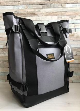 Вместительный городской женский, мужской рюкзак - сумка для но...