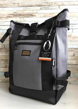 Стильный мужской городской рюкзак - сумка повседневный, для но...