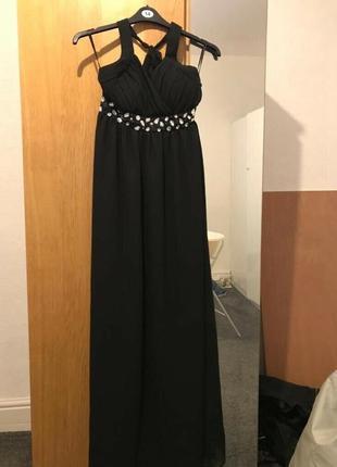 Роскошное вечернее шифоновое платье большого р-ра от amelia 56...