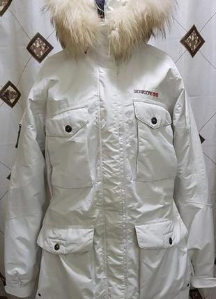 Парка куртка didriksons 1913 stormsystem пеший туризм