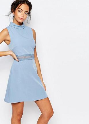 Платье с юбкой трапеция new look размер 10