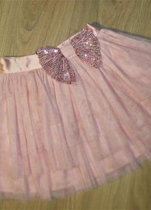 Нарядная юбка на 8лет рост 128