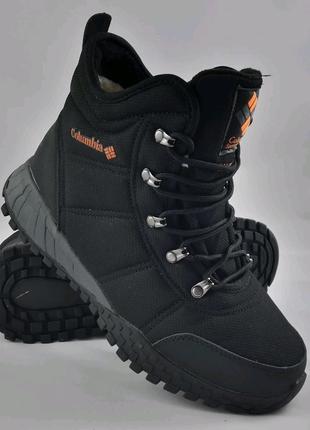 Мужские ботинки мех в стиле коламбиа