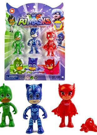 Игровой набор Pj Masks Герои в масках, 3 фигурки, W5250, для д...