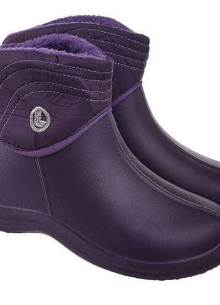 Сапоги gipanis для непогоды, пенки резиновые ботинки 37-41р
