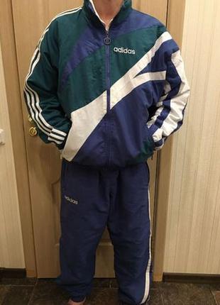Мужской зимний спортивный костюм adidas