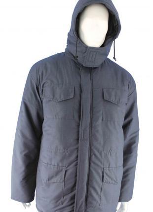 Куртка рабочая зимняя Инженер темно-синяя