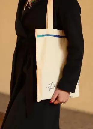 Сумка с вышивкой ручной работы