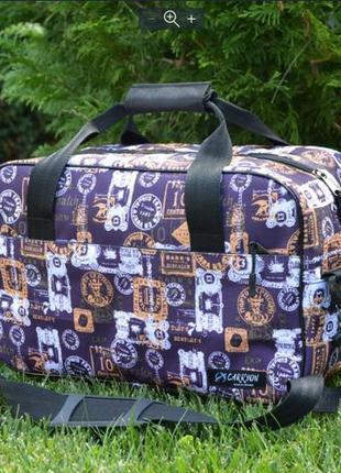 Стильная дорожная сумка райанейр визеир ручная кладь